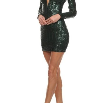 Roxanne Sequin Dress