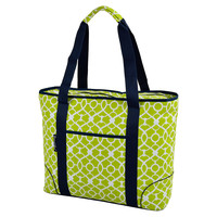 Extra Large Insulated Cooler Tote, Green, Coolers & Thermal Bags