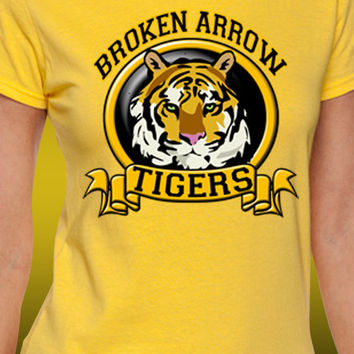 Broken Arrow Tigers Banner T-Shirt