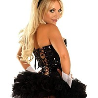Daisy 5 PC Sexy Sequin Bunny Costume