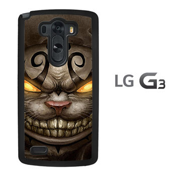 Alice Madness Returns Cheshire Cat Z0999 LG G3 Case