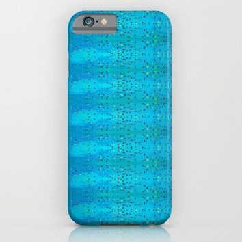 Teal Beanwood. iPhone & iPod Case by Ellebee