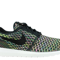 Nike Men's Roshe Run Flyknit NM Black Multicolor