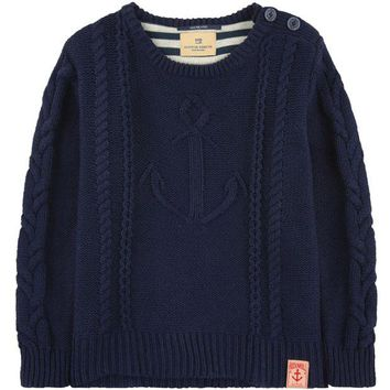 ONETOW Scotch & Soda Boys Knit Sailor Sweater