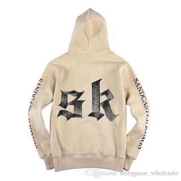 Fear of God SK Pacsun FOG Hoodie Men Pullover Justin Bieber Purpose Tour Felpe Hip Hop Skateboard Jogger Jumper Kanye Sweatshirt