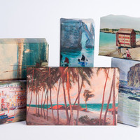 Beach Painting Wrapping Paper