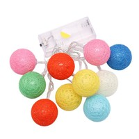 Creative Colorful Stylish Bright Cotton Box Christmas Decoration Lights [18778193940]