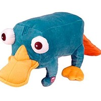 Disneys Phineas and Ferb 14 Inch Talking Plush Figure Perry