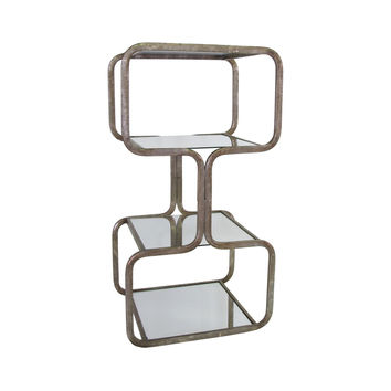 Meiosis Mirrored Side Table
