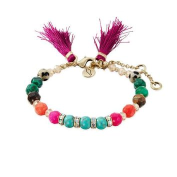 Bazaar Dainty Beaded Bracelet by Chloe + Isabel