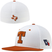 Texas Longhorns Nike Vapor True College Authentic Baseball Fitted Performance Hat - Burnt Orange