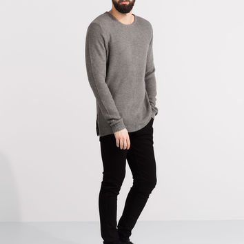 STRUCTURED SWEATER WITH ZIPS - JUMPERS & JACKETS - MAN - PULL&BEAR United Kingdom
