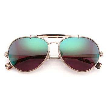 Wildfox - Goldie Deluxe Antique Gold Sunglasses