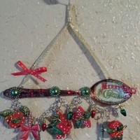 Altered Christmas Spoon