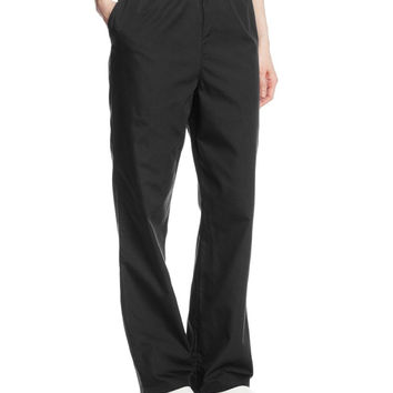 Cherokee Women's Workwear Scrubs Pull-On Pant Black X-Small Petite