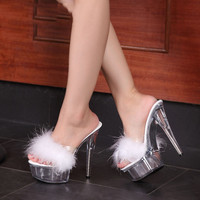 PUFFY CUTE STILETTOS