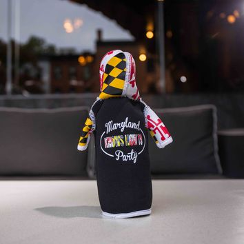 Maryland Knows How to Party / Jacket Koozie