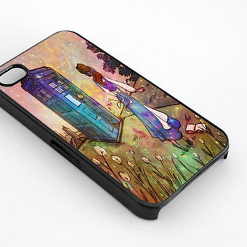 Belle Beauty N The Best Tardis Galaxy Nebula for iphone 4/4s case, iphone 5/5s/5c case, samsung s3/s4 case cover