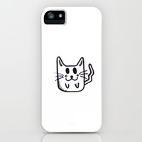 Cat iPhone Case by Kian Krashesky