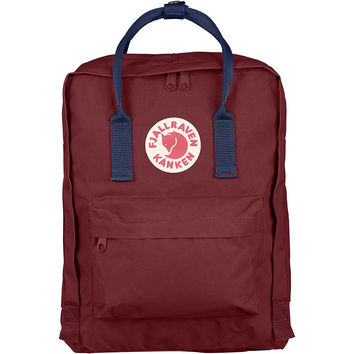 Kånken Classic Backpack - Ox Red & Royal Blue