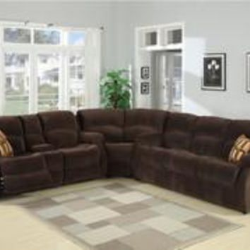 Tracey 2-Piece Transitional  Queen Sofa Bed and Reclining Love Seat