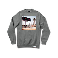 Billboard Crewneck Sweatshirt in Heather