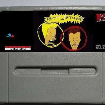 Beavis and Butthead - Action Game Cartridge EUR Version 16 bit 46 pin