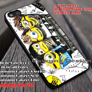 Cute Personnels, 5sos Mini, 5 Second of Summer, case/cover for iPhone 4/4s/5/5c/6/6+/6s/6s+ Samsung Galaxy S4/S5/S6/Edge/Edge+ NOTE 3/4/5 #cartoon #music #5sos ii