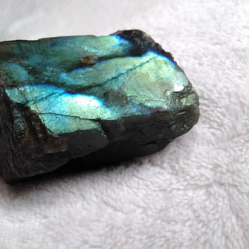 Labradorite  Crystal - Raw Crystal - Polished Crystal - Reiki Infused - Healing Crystal - Third Eye Chakra - Feng Shui - Zen Garden #644