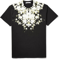 Givenchy - Columbian-Fit Printed Cotton T-Shirt | MR PORTER