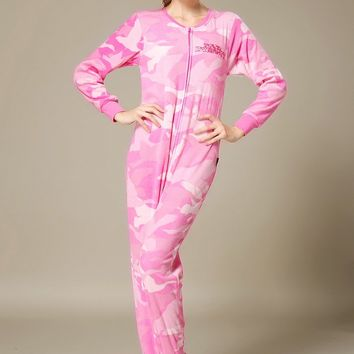 Adult woman All in One Fleece footed Onesuits