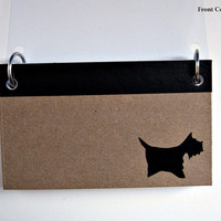 """Notebook - Two sided -  3""""x5"""" -  Blank, lined or graphed pages - Free shipping (USA, Canada)"""