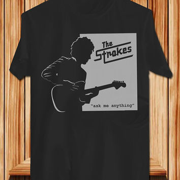 The Stroke TShirt Tee Shirts Black and White For Men and Women Unisex Size