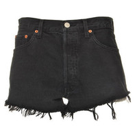 Vintage Ark Black Denim Levis Shorts