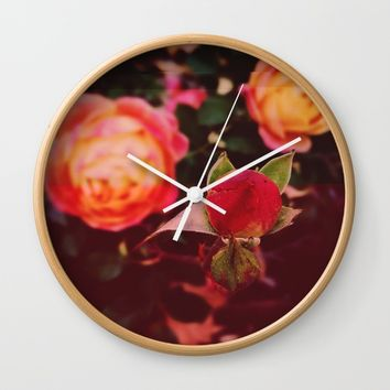 Living Color Wall Clock by Ducky B