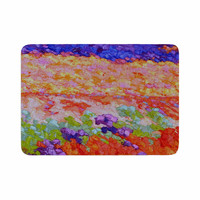 "Jeff Ferst ""Earthly Delights"" Floral Abstract Memory Foam Bath Mat"