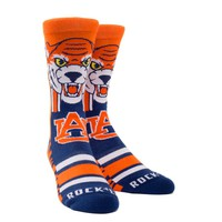 Rock Em Elite Auburn Tigers - Tiger Mascot Knitted Licensed L/XL Crew Socks