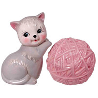 Kitten & Yarn Salt & Pepper Set