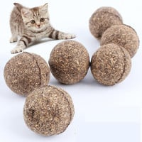 Natural Catnip Treat Ball Favor Home Chasing Toys Healthy Safe Edible Treating