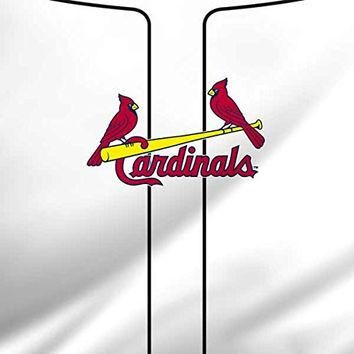 MLB St. Louis Cardinals iPad Mini 4 Skin - St. Louis Cardinals Home Jersey Vinyl Decal