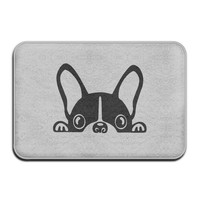 Autumn Fall welcome door mat doormat French Bulldog  Outdoor Fashion s Outdoor Area Rugs Non-slip  Dog Mat Backing  Rugs For Home AT_76_7