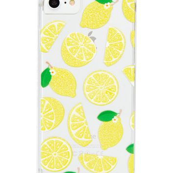 Glitter Lemon Case
