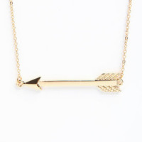 Side Arrow Necklace - LoveCulture