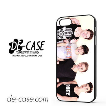 Jc Caylen Ricky Dillon Kian Lawley And Connor Franta DEAL-5839 Apple Phonecase Cover For Iphone 5 / Iphone 5S