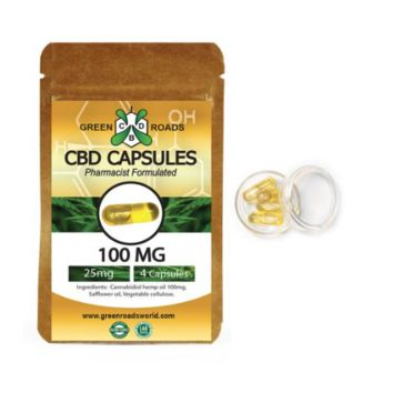 CBD Oil Capsules (100 mg)