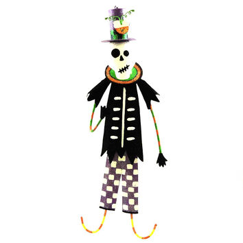 Halloween Mr And Mrs Bonesy Ornament Halloween Ornament