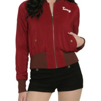Marvel By Her Universe Stark Industries Girls Bomber Jacket Pre-Order