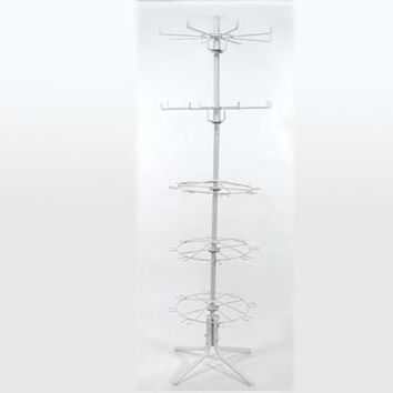 5 tier animal w/clothes spinner floor rack Case of 2