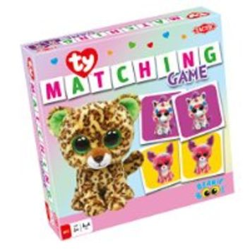 Ty Beanie Boos Matching Game - Family Game by Tactic Games (53289)