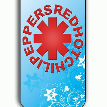iPhone 5C Case - Rubber (TPU) Cover with Red Hot Chili Peppers 2 Rubber Case Design